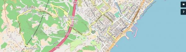 Diano Marina (Ph: OpenStreetMap)